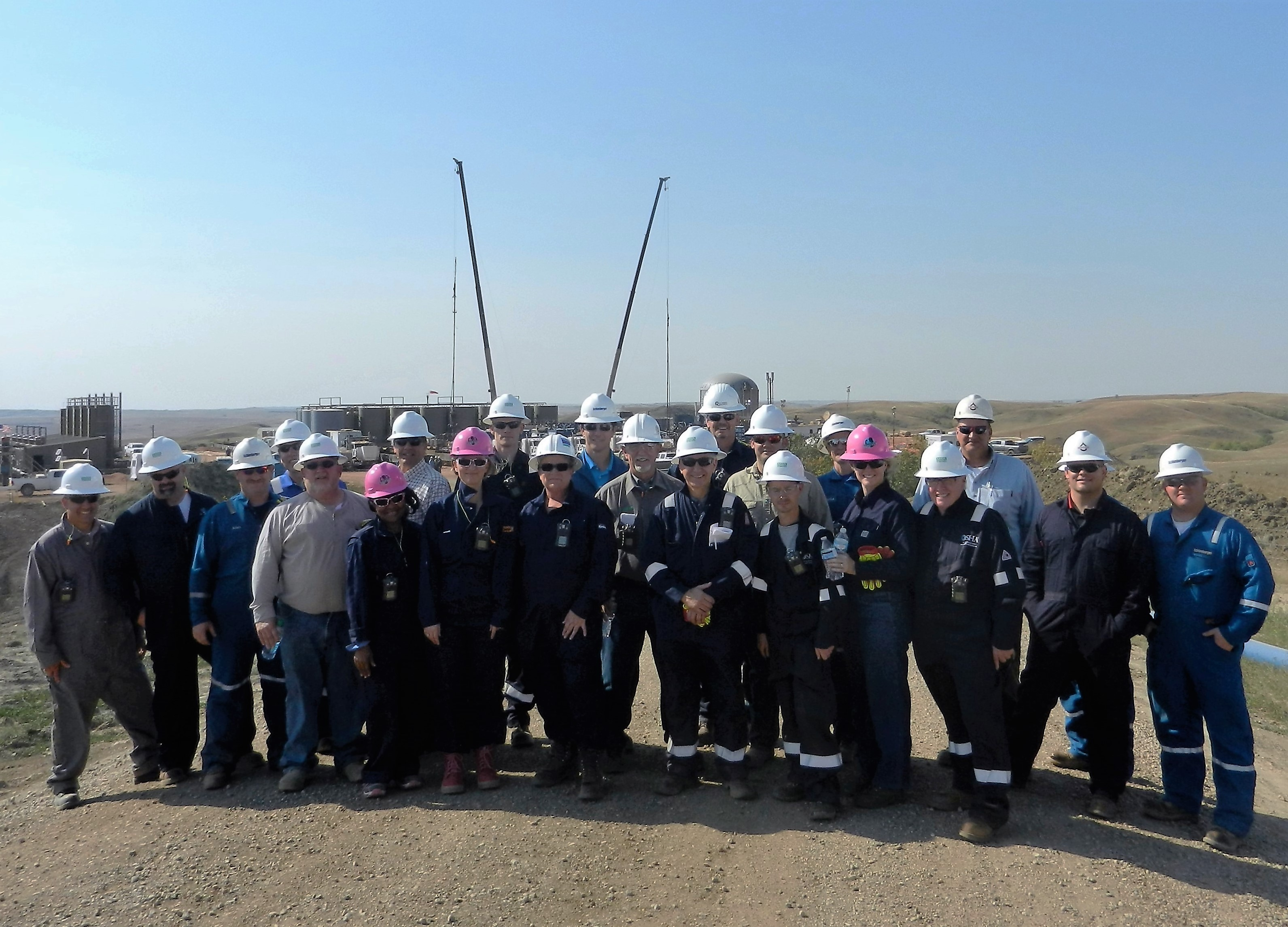 Conference Tour on Live Frac Site photo 1