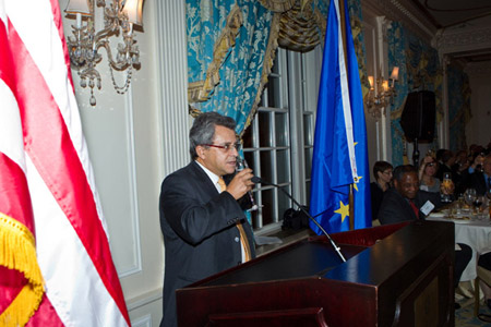 Formal Dinner Toast for Deepening and Broaden of US/EU Cooperation